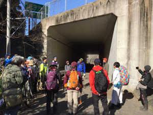 車力道入口整備2月2日